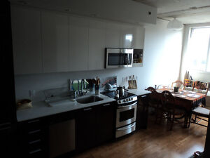 Beautiful New Loft style studio in Old Port, completely furnishe