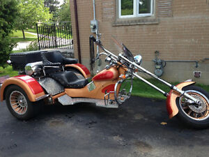 VW CUSTOM TRIKE & TRAILER