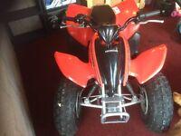 Honda 90 cc quad bike