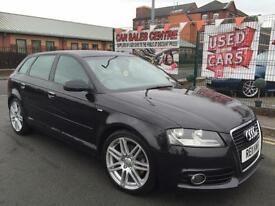 AUDI A3 2.0 TFSI SPORTBACK S LINE 2011 **1 OWNER FROM BRAND NEW **FULL AUDI HIST
