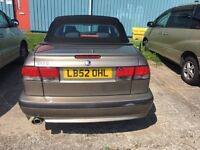 For Sale - Saab 9-3 Turbo - First listed Jan 2003 - MOT until May 9, 2017