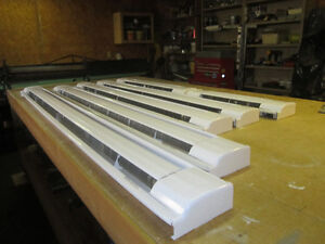 Dimplex white baseboard heaters