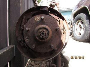 Gasser Front Axle Drop Drum Brakes Can Convert Chev GM. Strathcona County Edmonton Area image 3