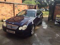 Mercedes C200 Kompressor 100000 mls £1300 mot oct