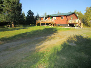 privacy privacy log home for sale,