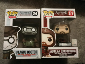 Assassin's Creed Funko pops