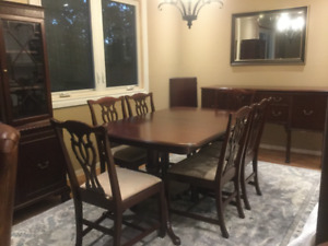 Complete Antique Dining Room Set