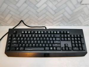 RAZER Blackwidow Mechanical gaming keyboard.