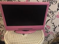 Small Alba pink tv
