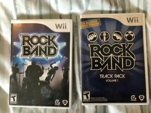 Rockband (Wii) Games, Instruments and Accessories