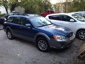 Subaru Outback 2007 - Moteur défectueux
