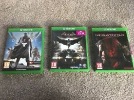 Xbox One Games REDUCED - Destiny, Batman Arkham Knight & Metal Gear Solid Phantom Pain