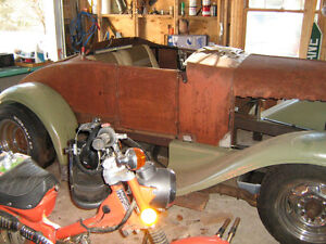 1923 STAR Rodster Rare Car Project