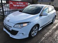 2009 (59) RENAULT MEGANE 1.6 WORLD SERIES, 1 YEAR MOT, SERVICE HISTORY,