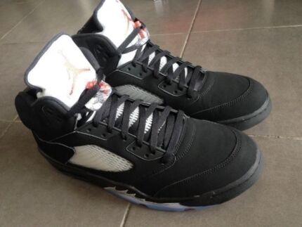 the best attitude 5486f ba049 Nike Air Jordan V Black Silver OG banned bred royal flyknit NEW