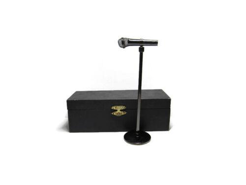 Nickelodeon Desk Mini Microphone Office Entertainment Voice Artist Gift RARE