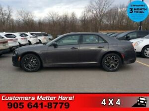 2018 Chrysler 300 S  AWD NAV PANO-ROOF CAM LEATH APPLE-PLAY