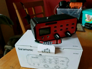 Saramonic mixer SR-PAX2 NEW IN BOX!