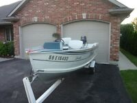 14' Aluminum Fishing Boat