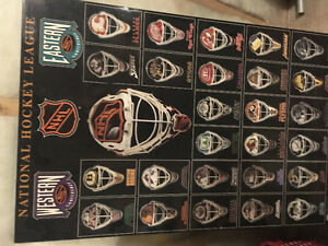 Hockey wall decor