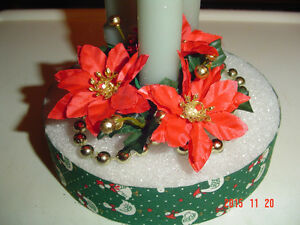 SELECTION OF 7 UNIQUE VINTAGE CHRISTMAS DECORATIONS & ACCENTS Windsor Region Ontario image 9