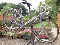 "Ladies vintage 1986 Mixte 20.5"" frame 5 speed road bike bicycle racer/tourer town basket"