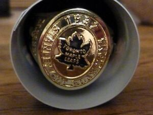 Bague Toronto Maple Leafs série 2016 Molson Canadian