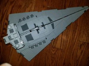 Lego Star Wars Star Destroyer 75055 complete with figs .