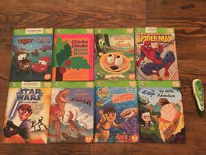 "Leap Frog ""Tag"" reader w/ 8 ""boy"" books, Kelowna"