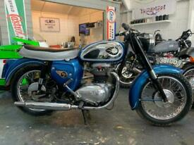 BSA A50 1962, genine 5000 miles bike, lovely condition