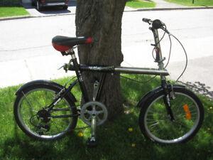 Giatex Sport 760 Stretch 6 Speed Folding Bike