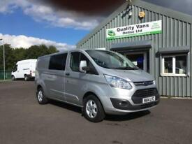 14 2014 Ford Transit CUSTOM 290 Trend LWB L2H1 DOUBLE CAB VAN *AIR CON*