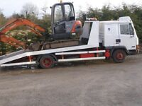LEYLAND DAF BREAKDOWN RECOVERY VEHICLE 7.5 TON