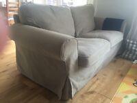 IKEA EKTORP sofa with extra cover
