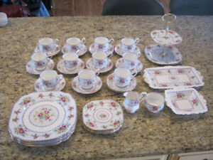 Royal Albert Petit Point dishes