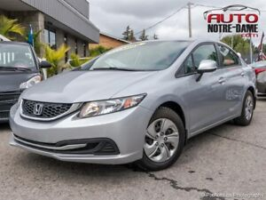 Honda Civic Sdn LX AIR BLUETOOTH  ** NOUVEL ARRIVAGE **  2013