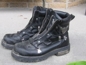 Harley boots( no emails)