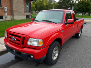 FORD RANGER SPORT 2010  4X2 CAB DOUBLE