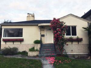 3 Bedroom House in Oakridge with front and back yard for rent.