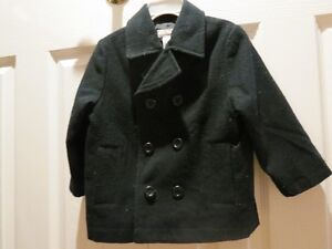 Black Peacoat - Reduced!! Size 3T