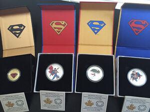 2014 RCM Superman Coin set & 2013 Superman Silver Coin London Ontario image 1