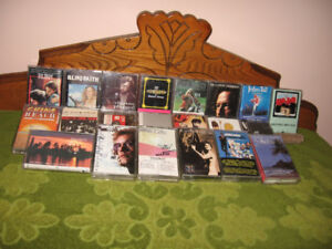 22 Musical Cassettes For Sale