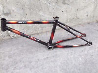 MTB or BMX black-n-red frame, condition is great.
