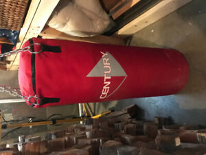 'Century' 100 pound heavy bag - boxing (moving sale, must go)