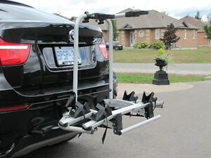 Rear-mounted bicycles rack for BMW X5 or X6 Oshawa / Durham Region Toronto (GTA) image 1