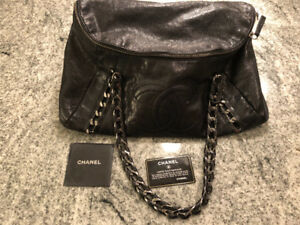 Authentic Chanel Modern Chain Tote