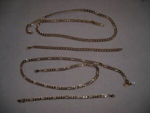 14K Gold Plated Chains & Bracelets