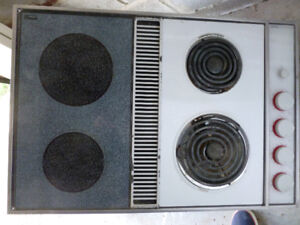 Cooktop Electric downdraft  30 x 20 inches multiple features