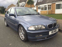 2001 BMW 330 3.0i E46 PRIVATE PLATE! NEW MOT! 13 STAMPS FULL HISTORY! 328 325 M3