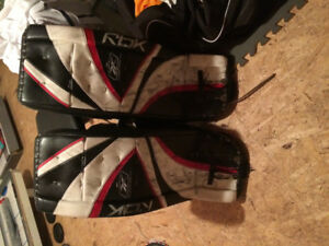 Reebok pads and TPS trapper.